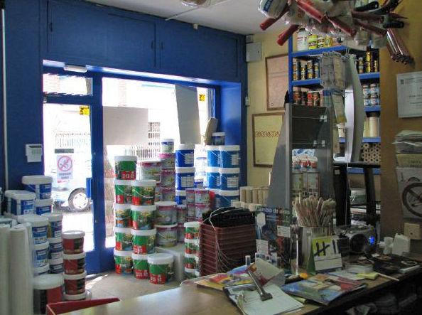 Tienda de pinturas y material para pintar