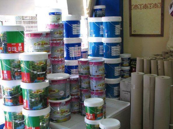 Tienda especializada en todo tipo de pinturas