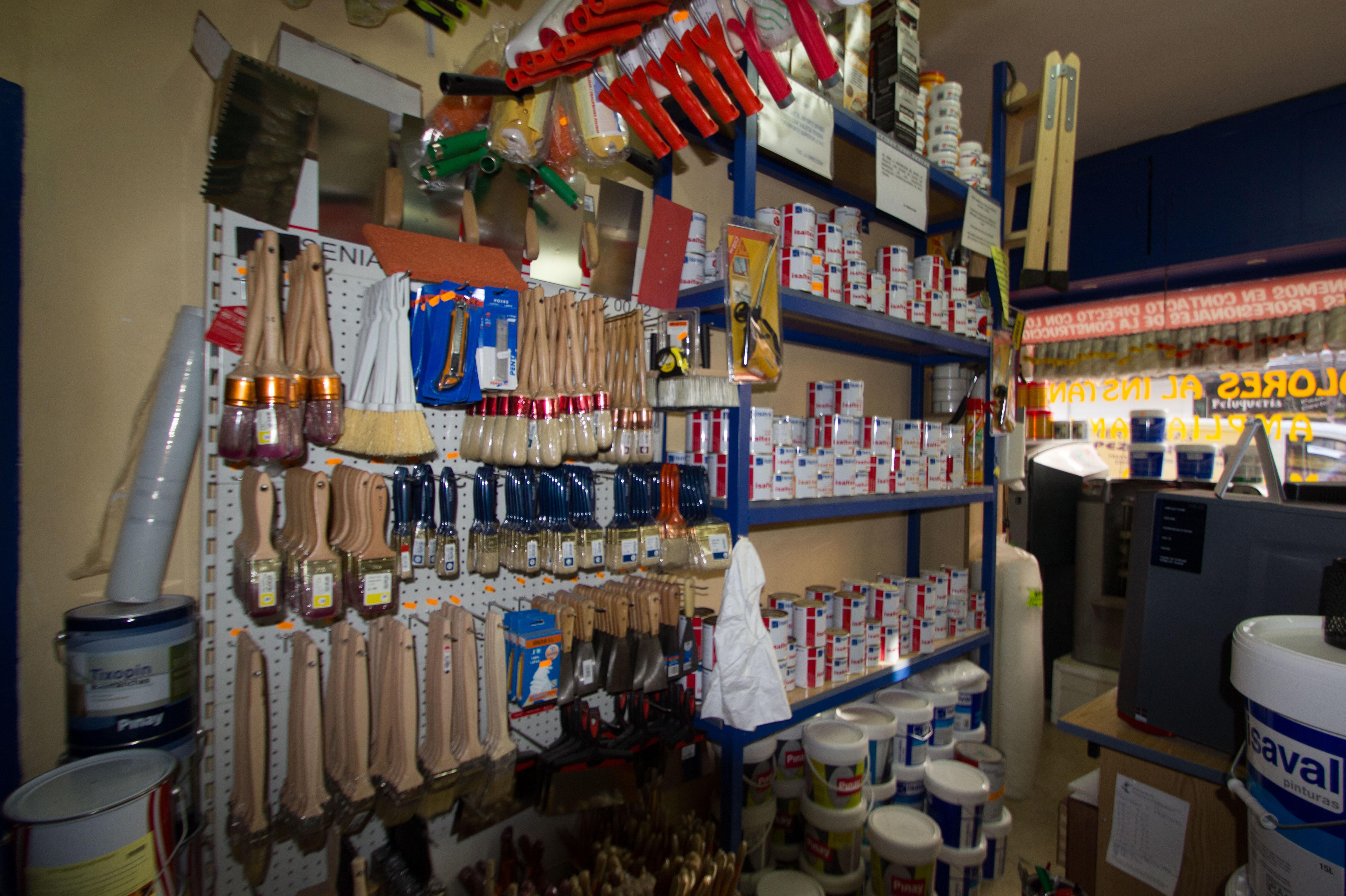 Material para pintores en Madrid