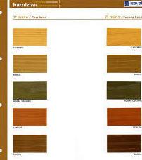 Barnices con tinte.: Productos  de El Pinturas, S. L.