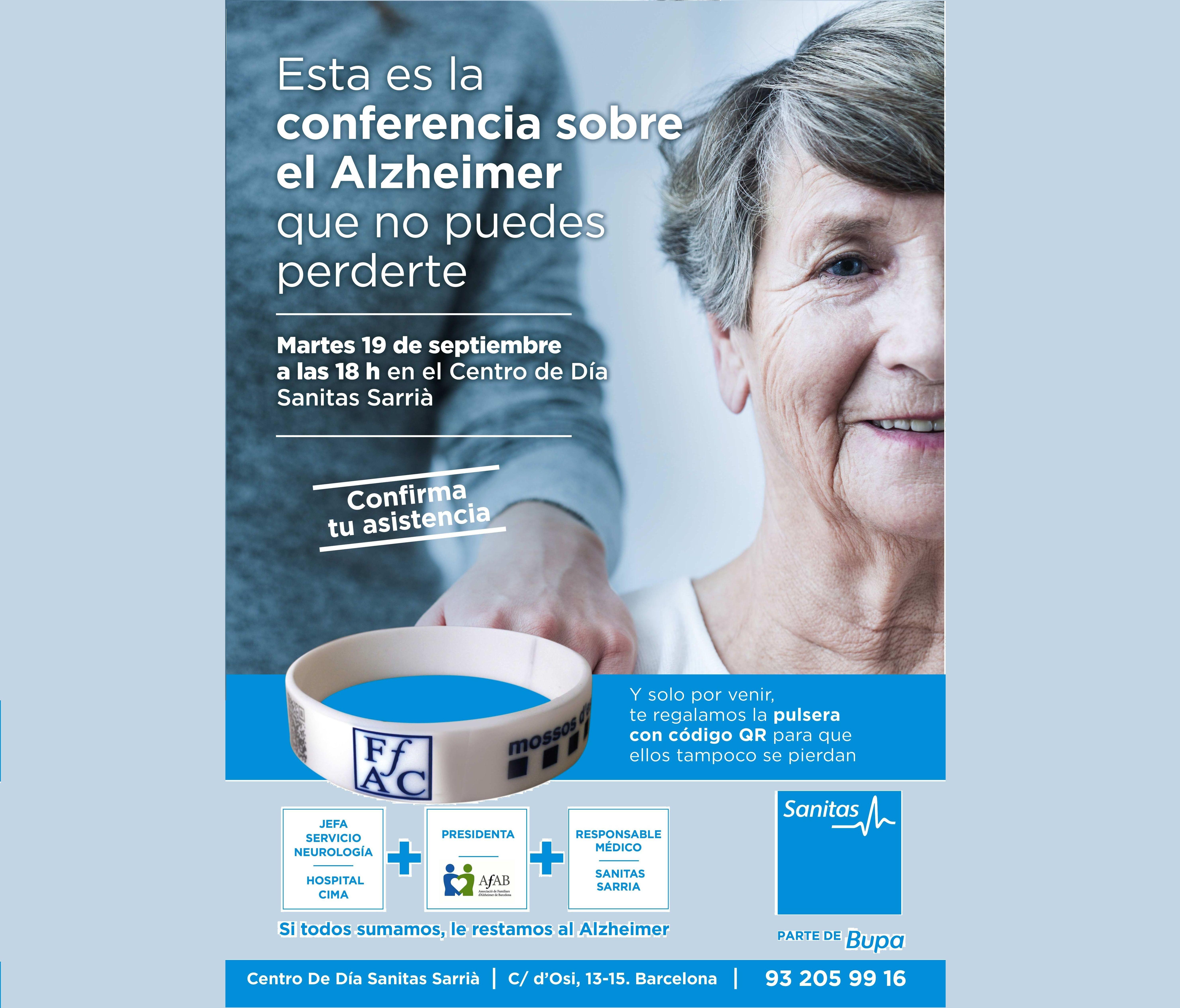 Conferencia día mundial del Alzheimer