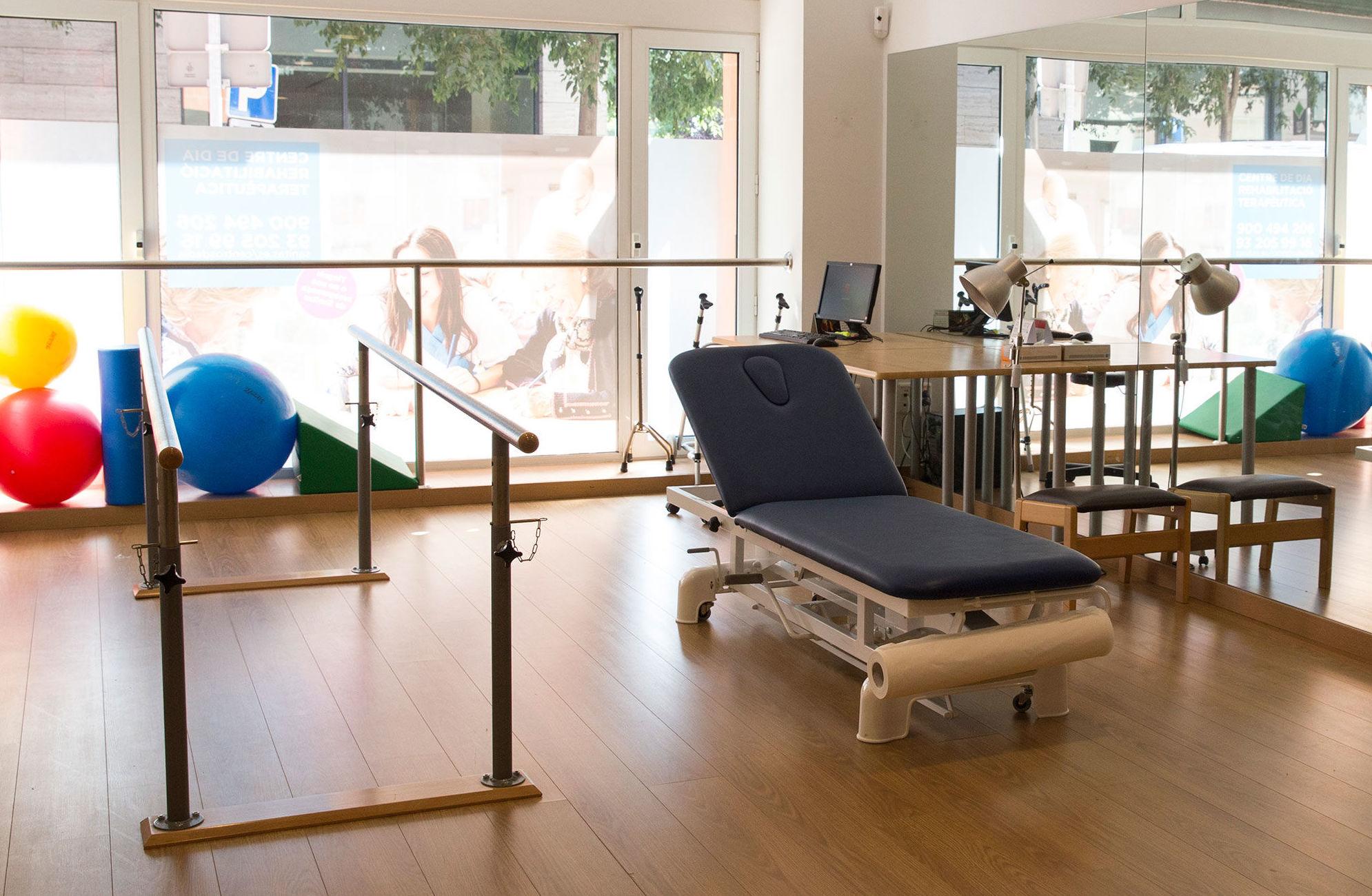Sala de terapias del Centro de día Sarrià