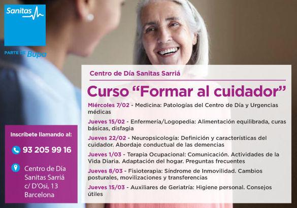 """Curso """"Formar al cuidador"""": Actividades de Centro de Día Sarrià Barcelona"""