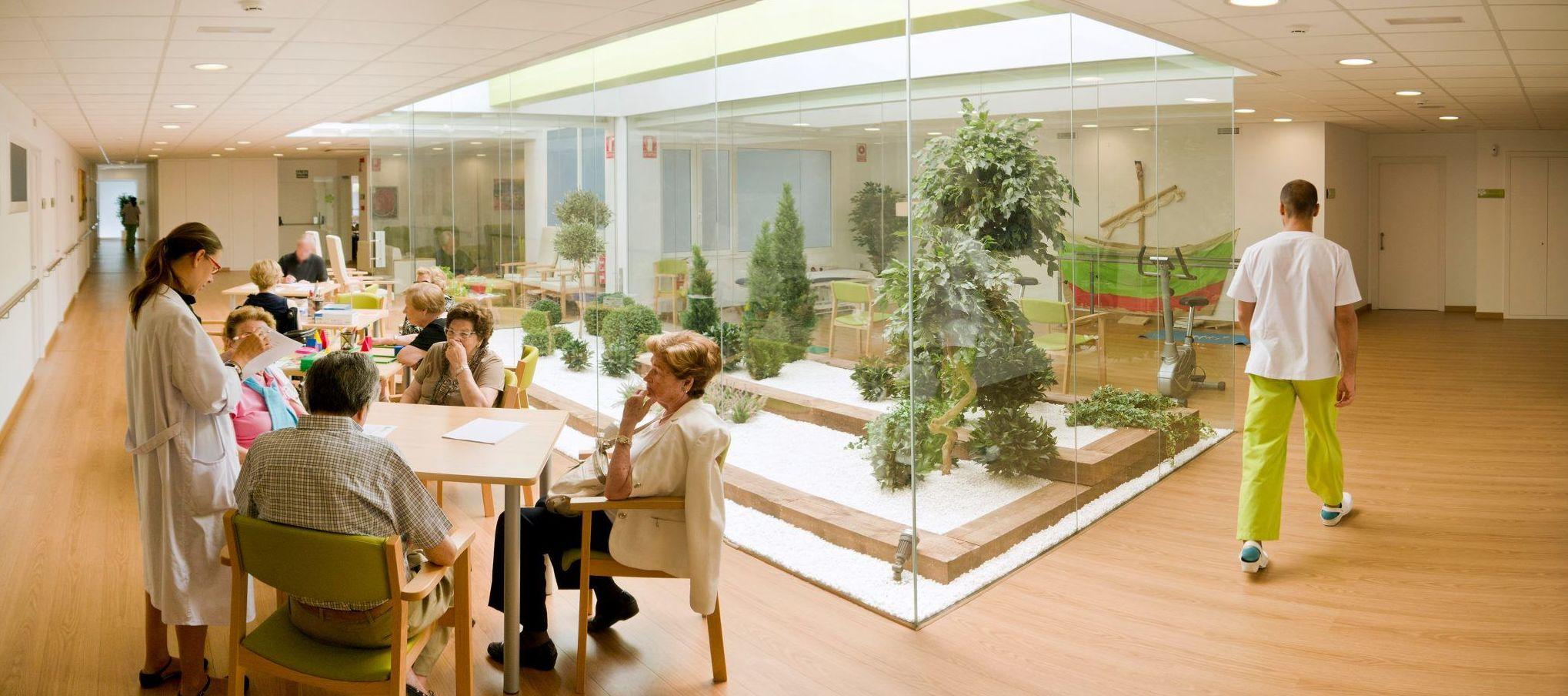 Centro de día para mayores en Sarriá