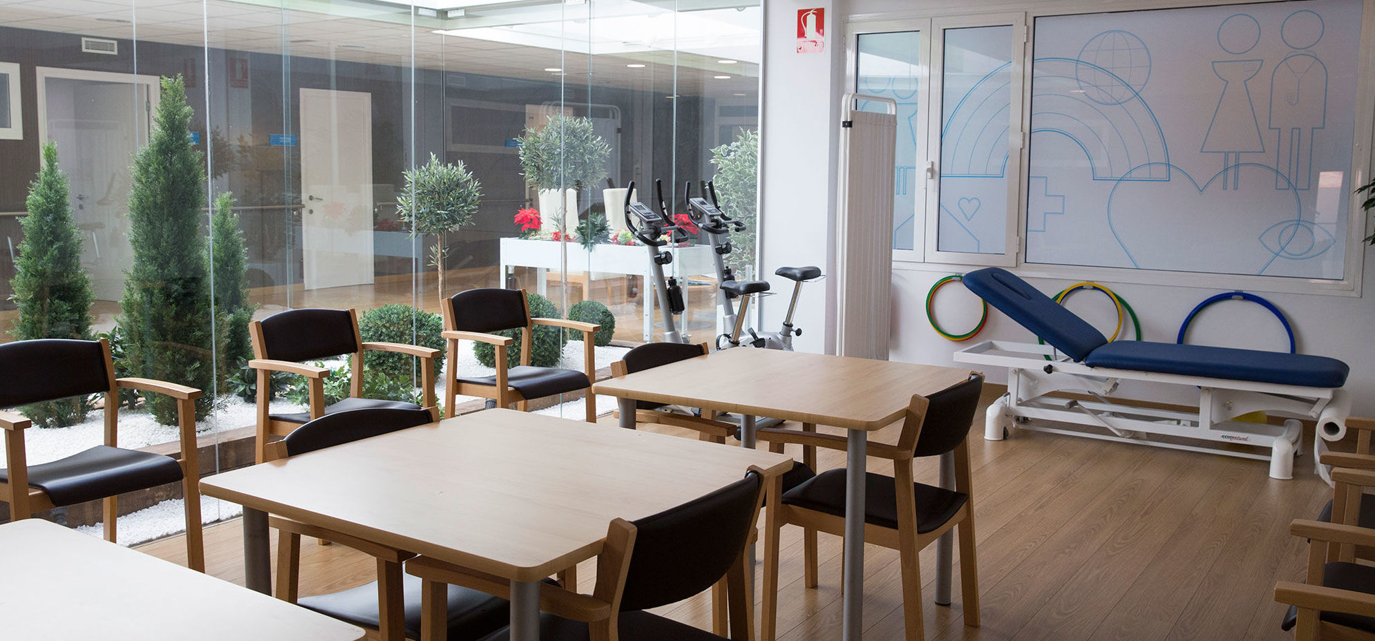 Sala polivalente del Centro de día Sarrià