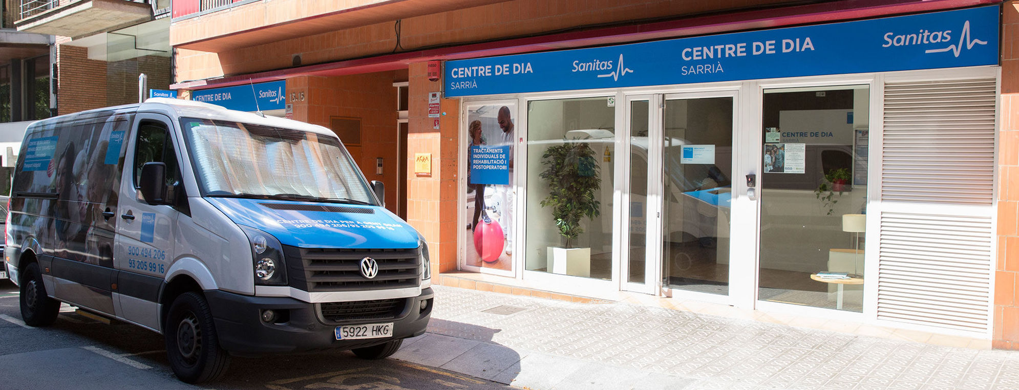 Fachada del Centro de día Sarrià