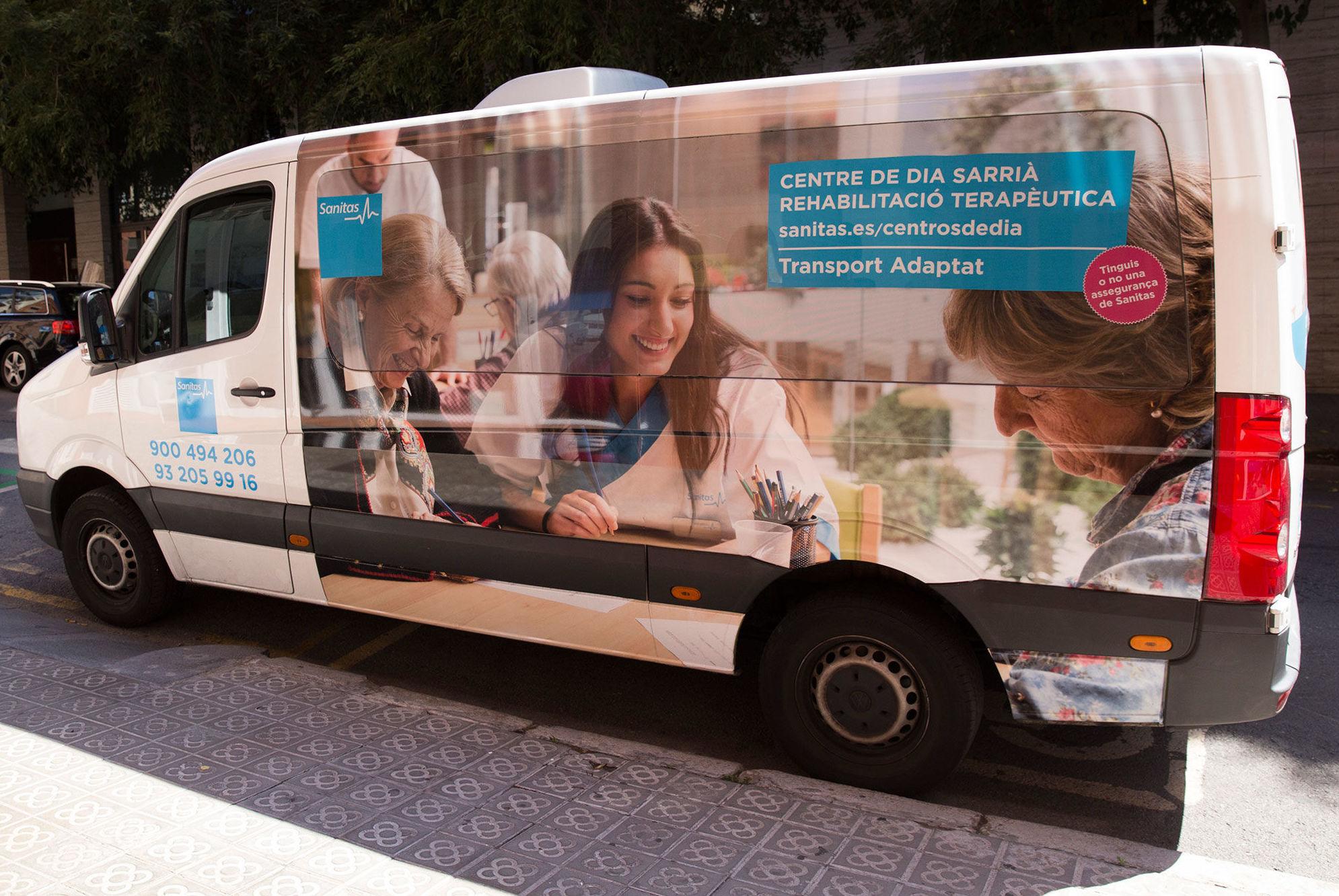 Transporte del Centro de día Sarrià