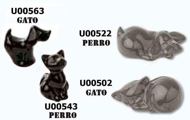 MINIURNA PORCELANA ANIMALES PERRO/GATO