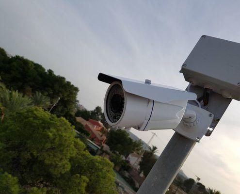 Instalación de cámara de video vigilancia en Alicante
