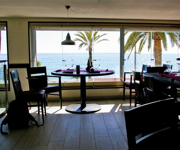 Restaurante en Lloret de Mar con vistas al mar