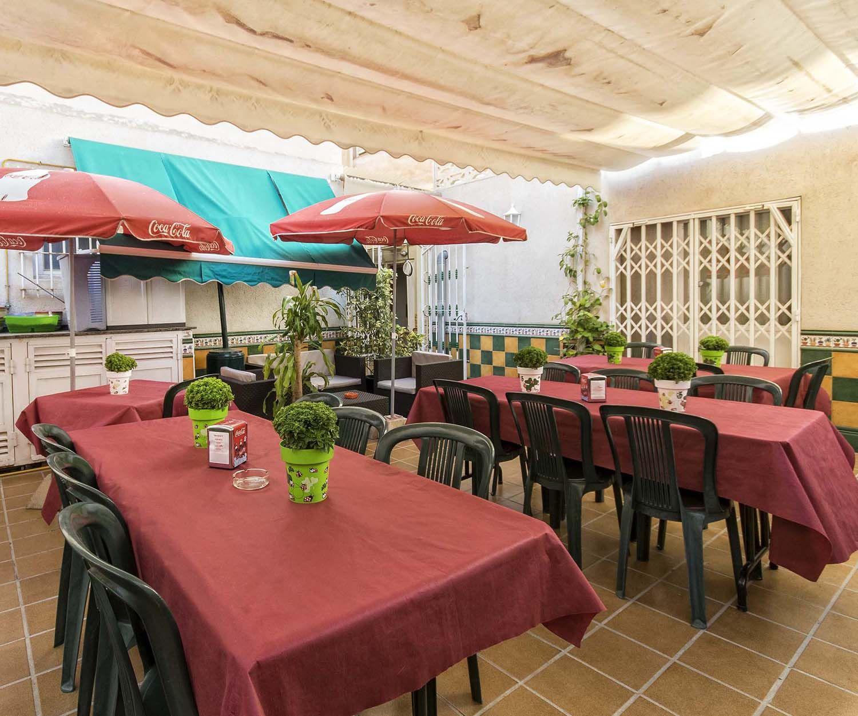 Terraza de nuestro restaurante en Novelda
