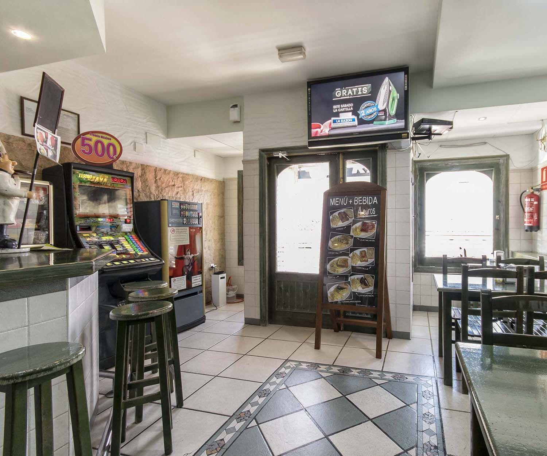 Interior de nuestro bar en Novelda
