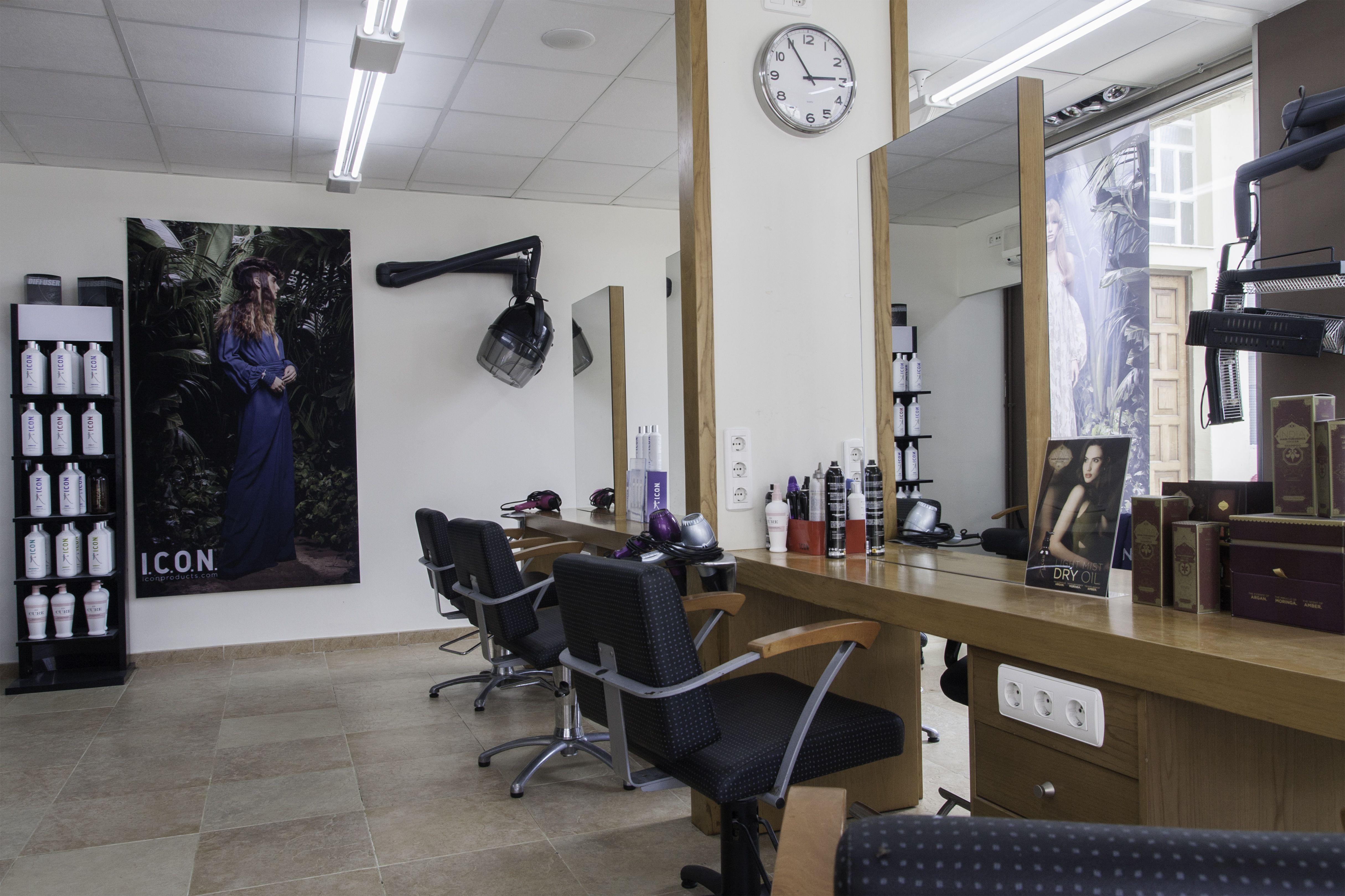 Zona de peluquería