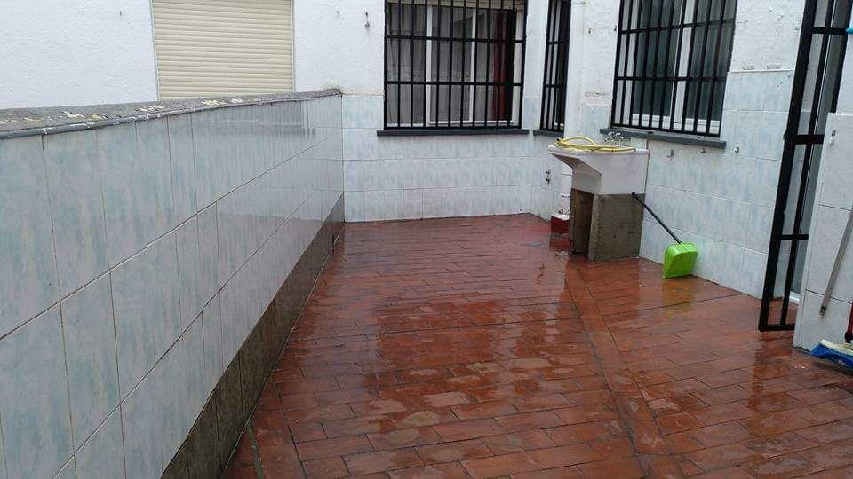 Limpieza de patios Logroño