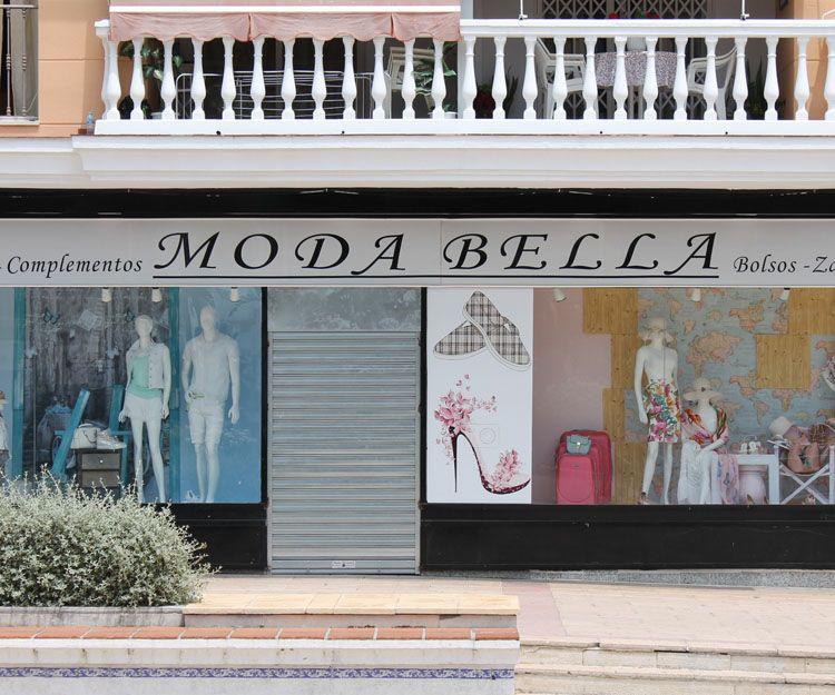 Fachada de la tienda en Marbella