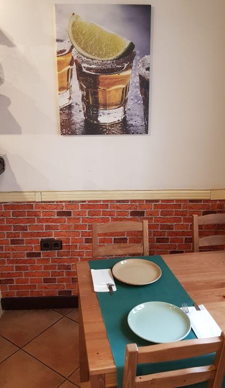 Restaurante mexicano con amplia carta de platos en Ourense