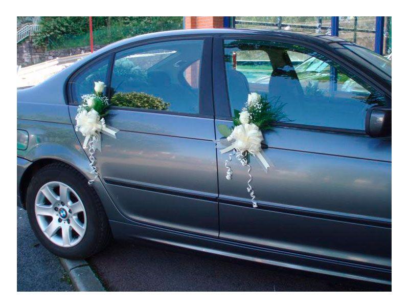 Decoramos coches de boda