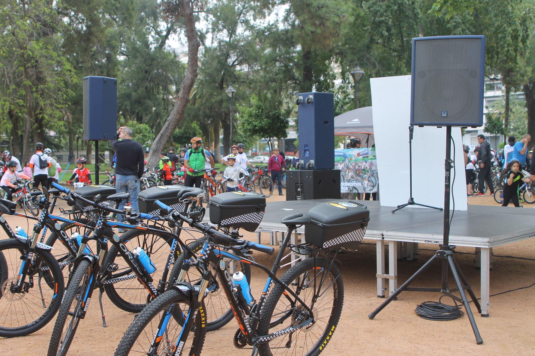 Dia de la bici en cordoba 2016
