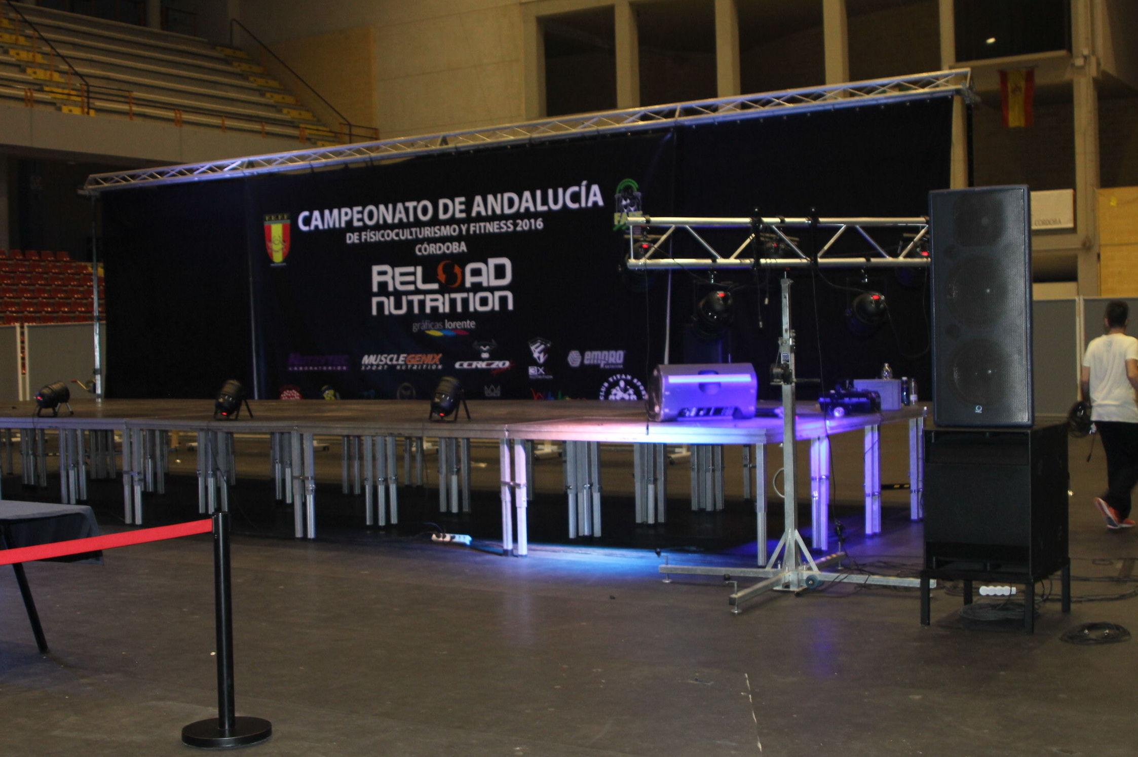 Instalación de luces en Andalucía