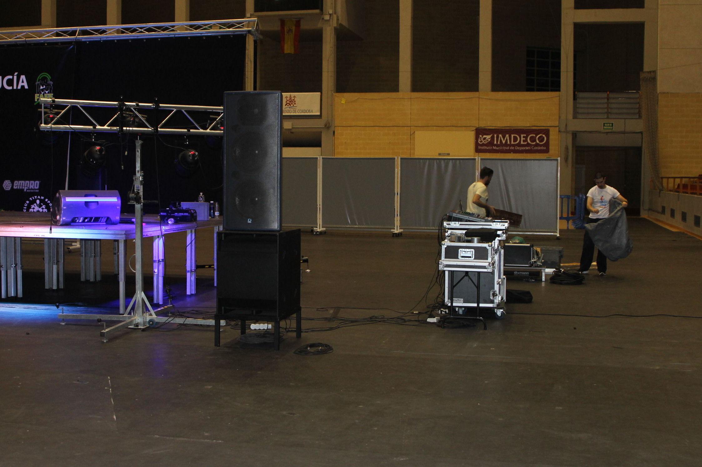 Instalación de equipos de sonido en Andalucía