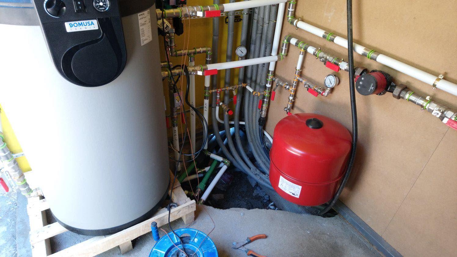 Instalaciones de fontanería y calefacción en Madrid