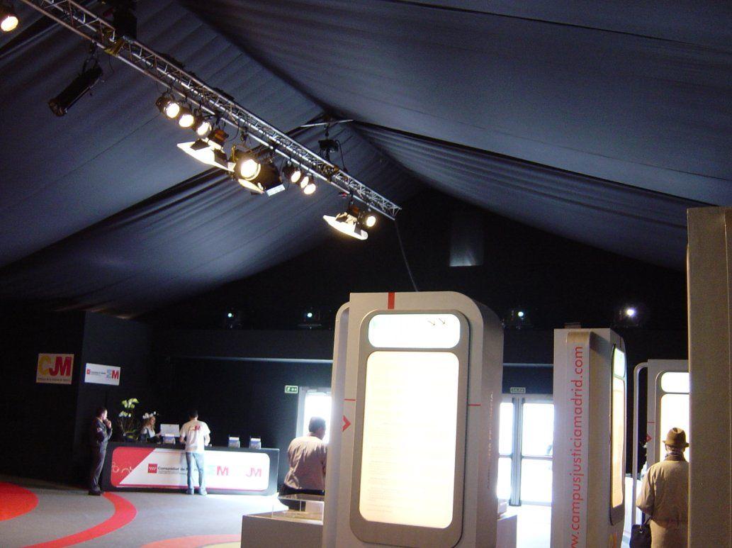 Iluminación de carpas: Servicios de Electricidad Sidelux