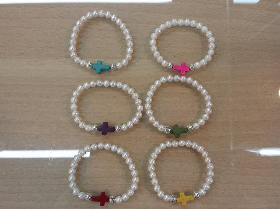 Pulseras de perlas: Joyas y regalos de plata de Mercado de la Plata