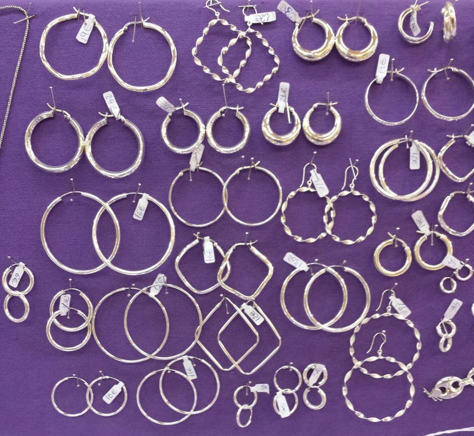 Aros de plata: Joyas y regalos de plata de Mercado de la Plata