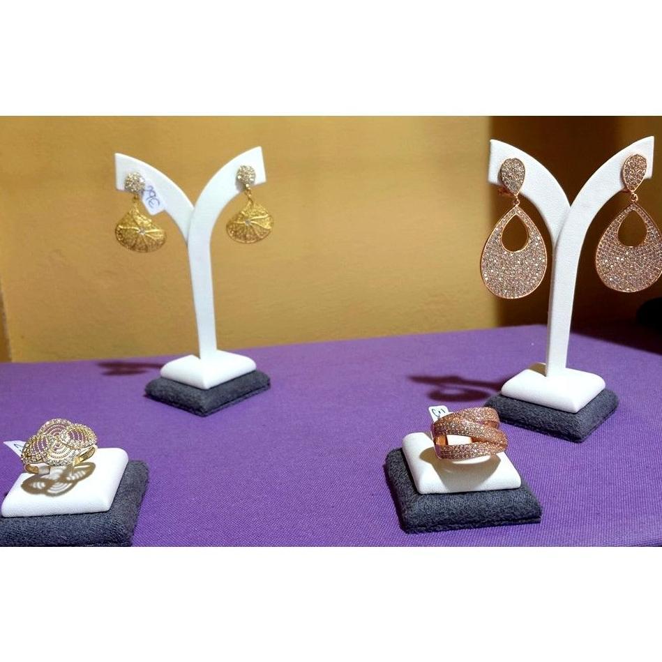 Anillos y pendientes con circonitas: Joyas y regalos de plata de Mercado de la Plata