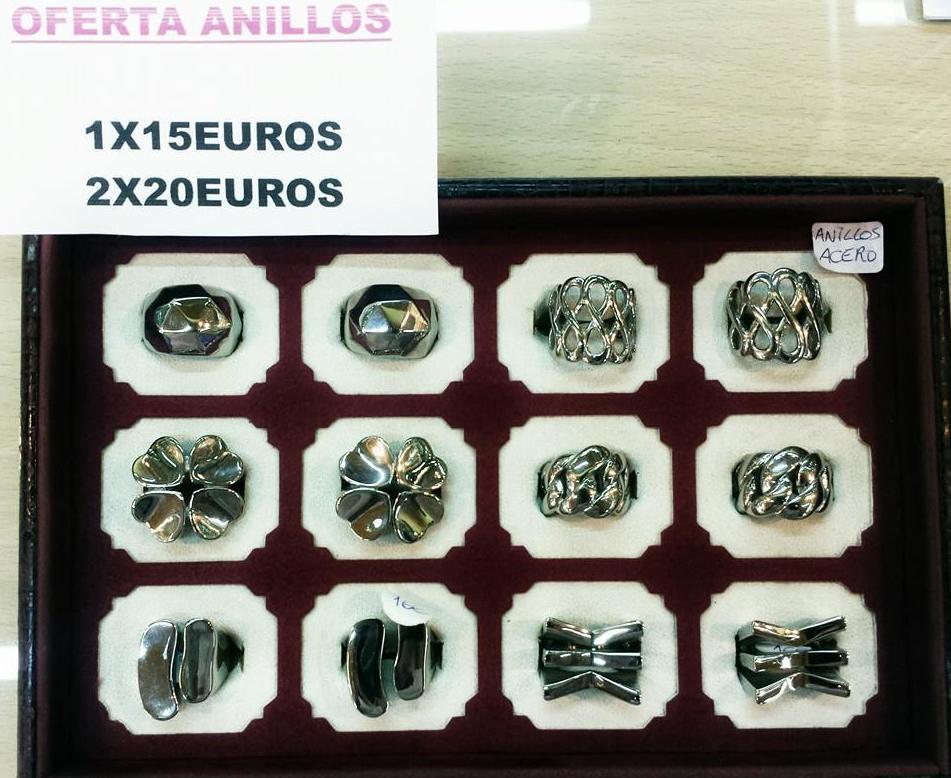 Amplia variedad de modelos en anillos de acero