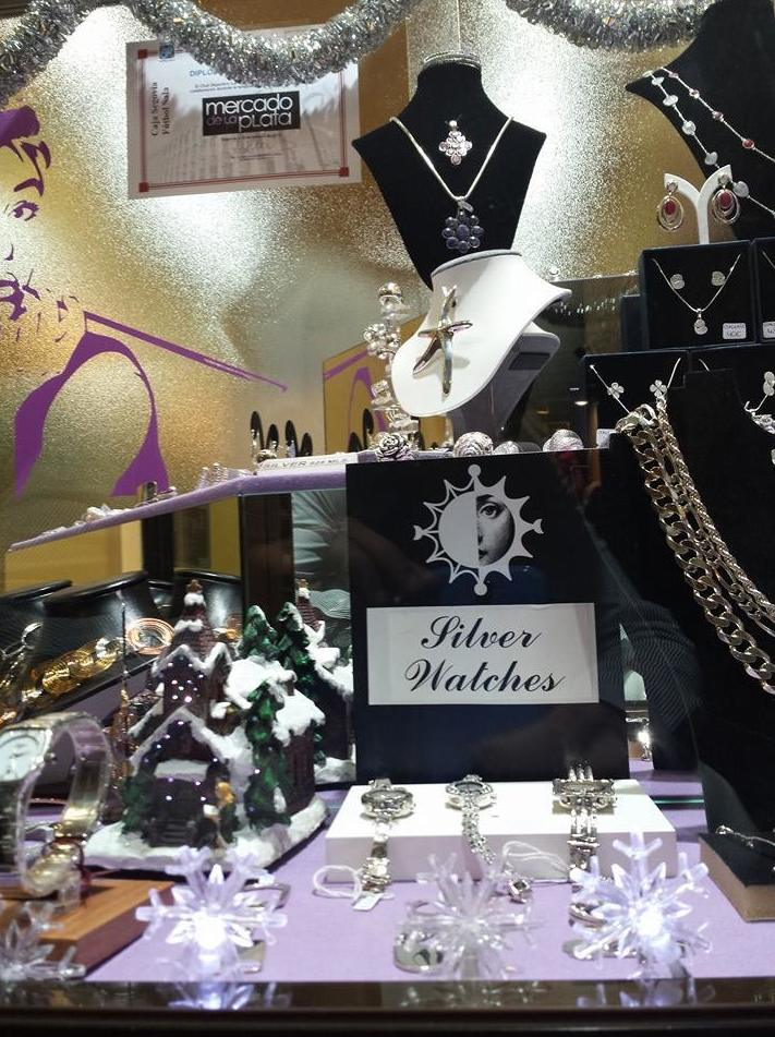 Mercado de la Plata, tienda especializada en plata de 1ª ley