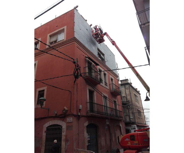 Trabajos de altura en Tarragona