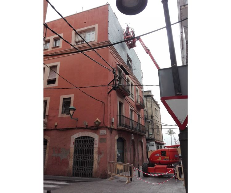 Proceso de rehabilitación de fachadas en Tarragona