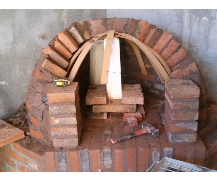 Construcción de chimenea en Tarragona