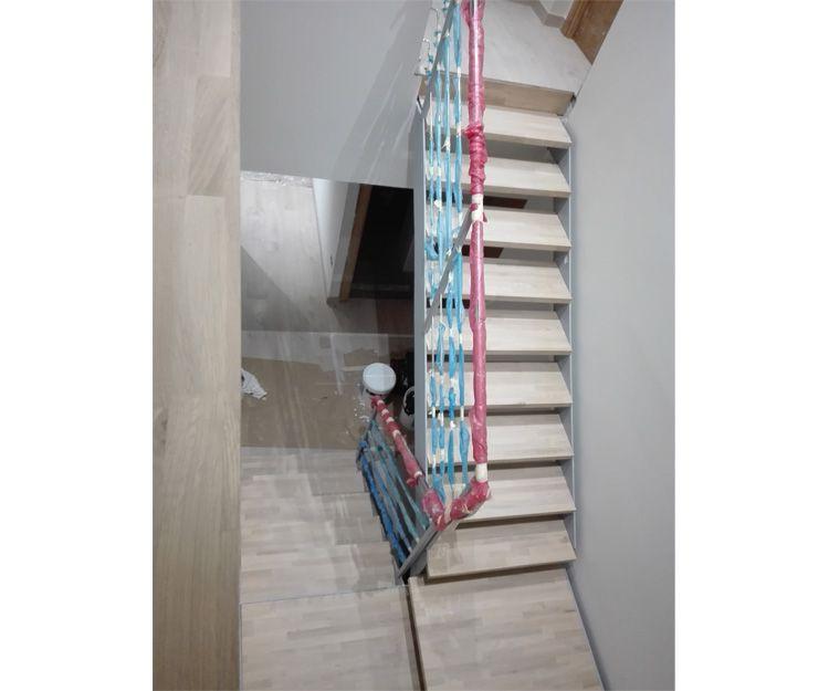 Construcción de escalera interior en Tarragona