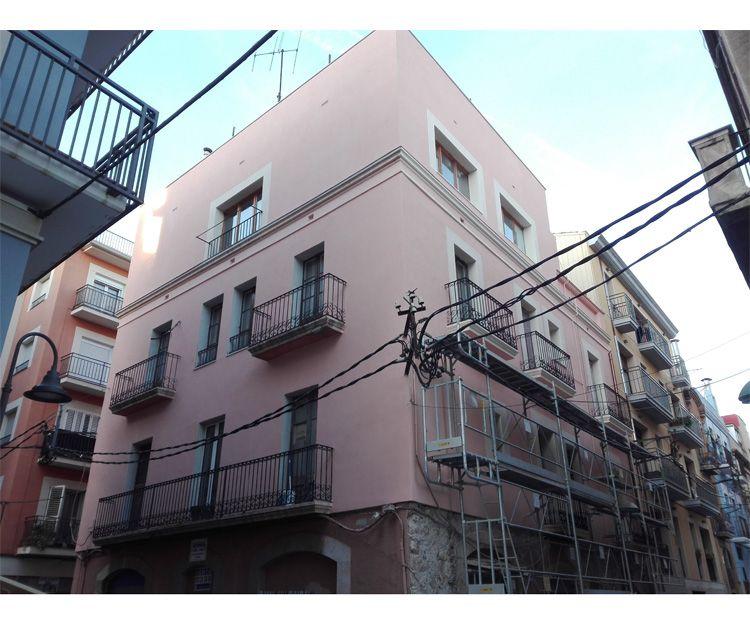 Trabajos de renovación de fachadas en Tarragona