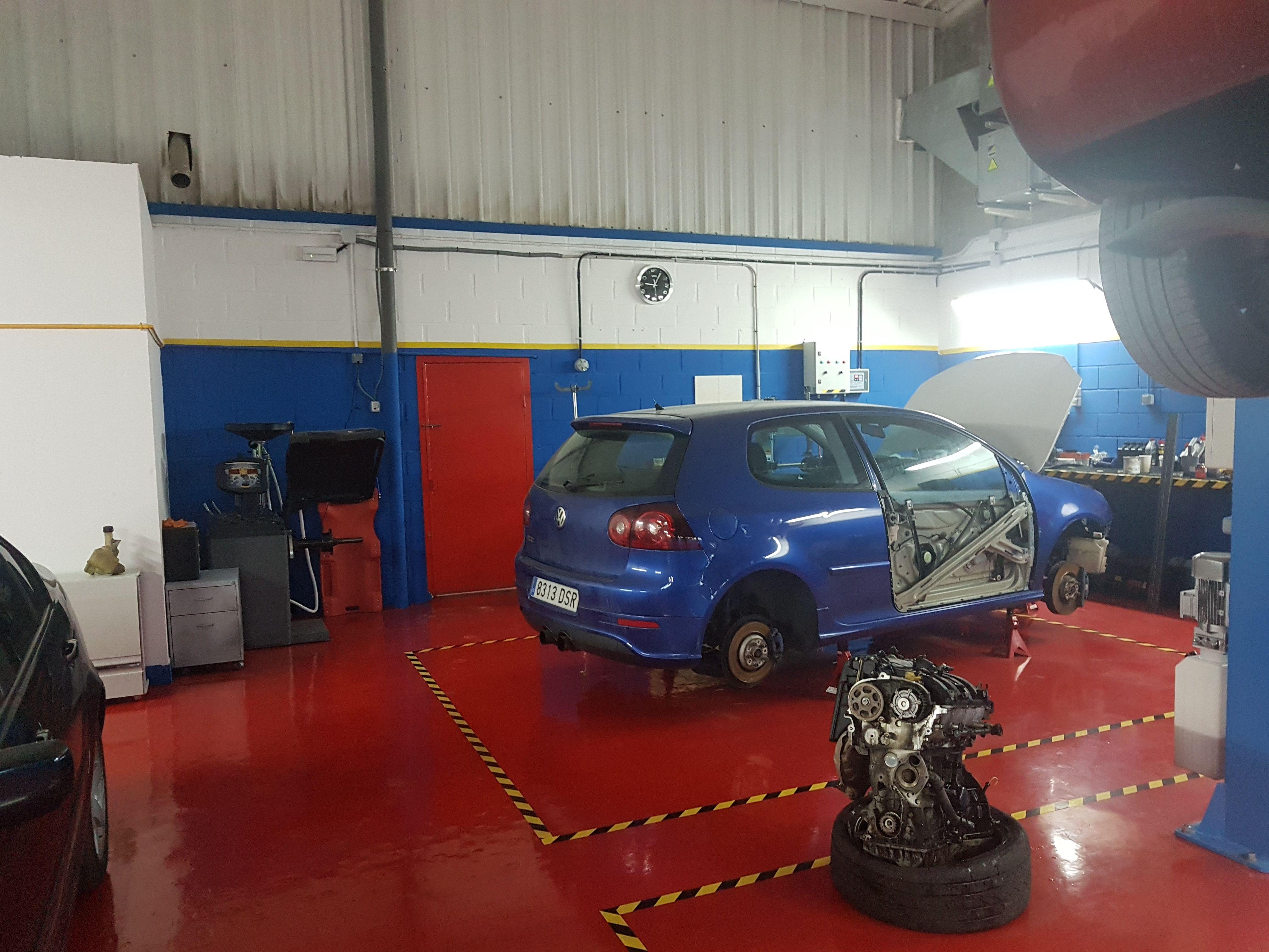 Taller de reparación del automóvil en Collado Villalba