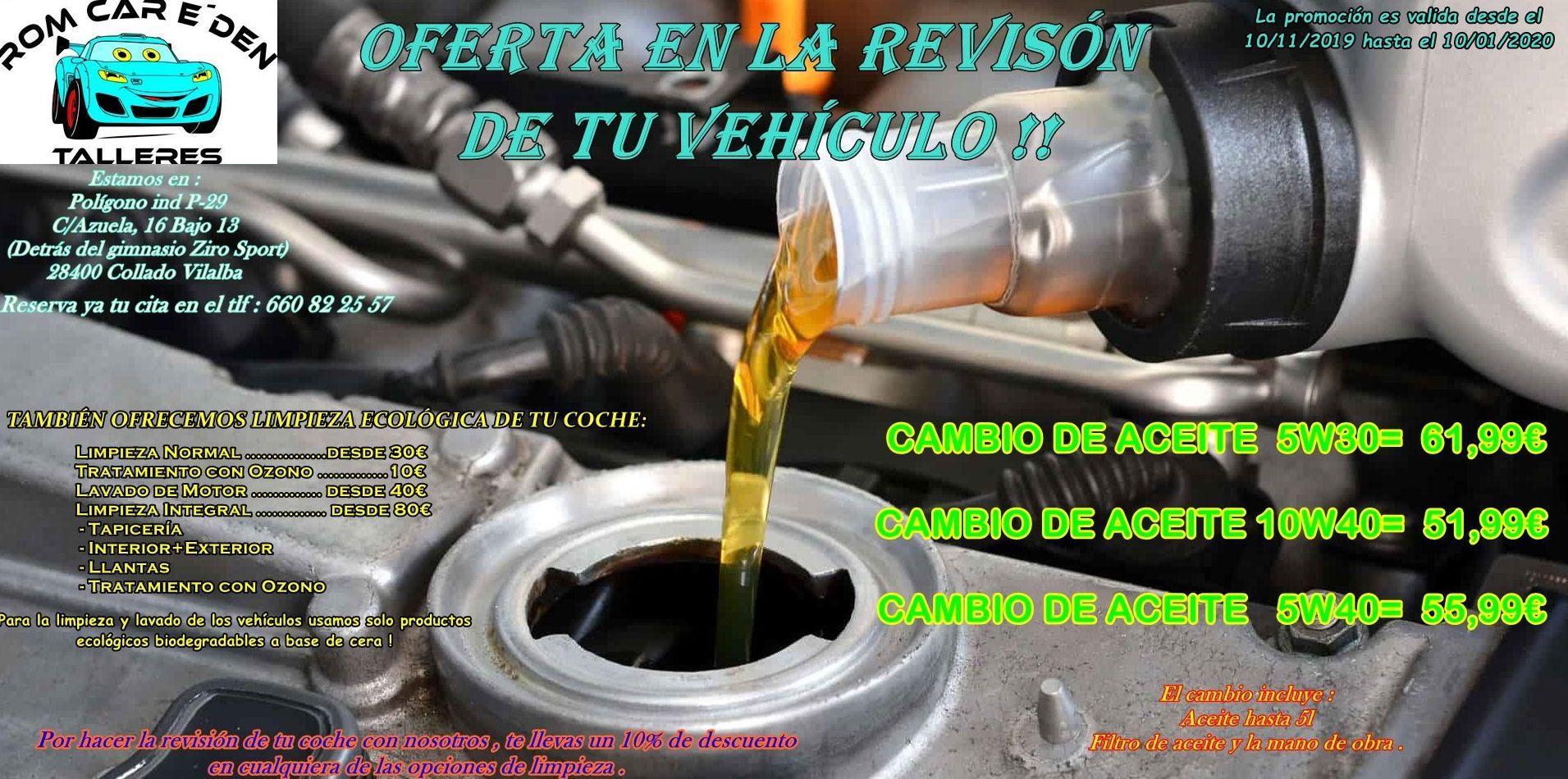 Foto 2 de Talleres de automóviles en Collado Villalba | Talleres Rom Car E'Den