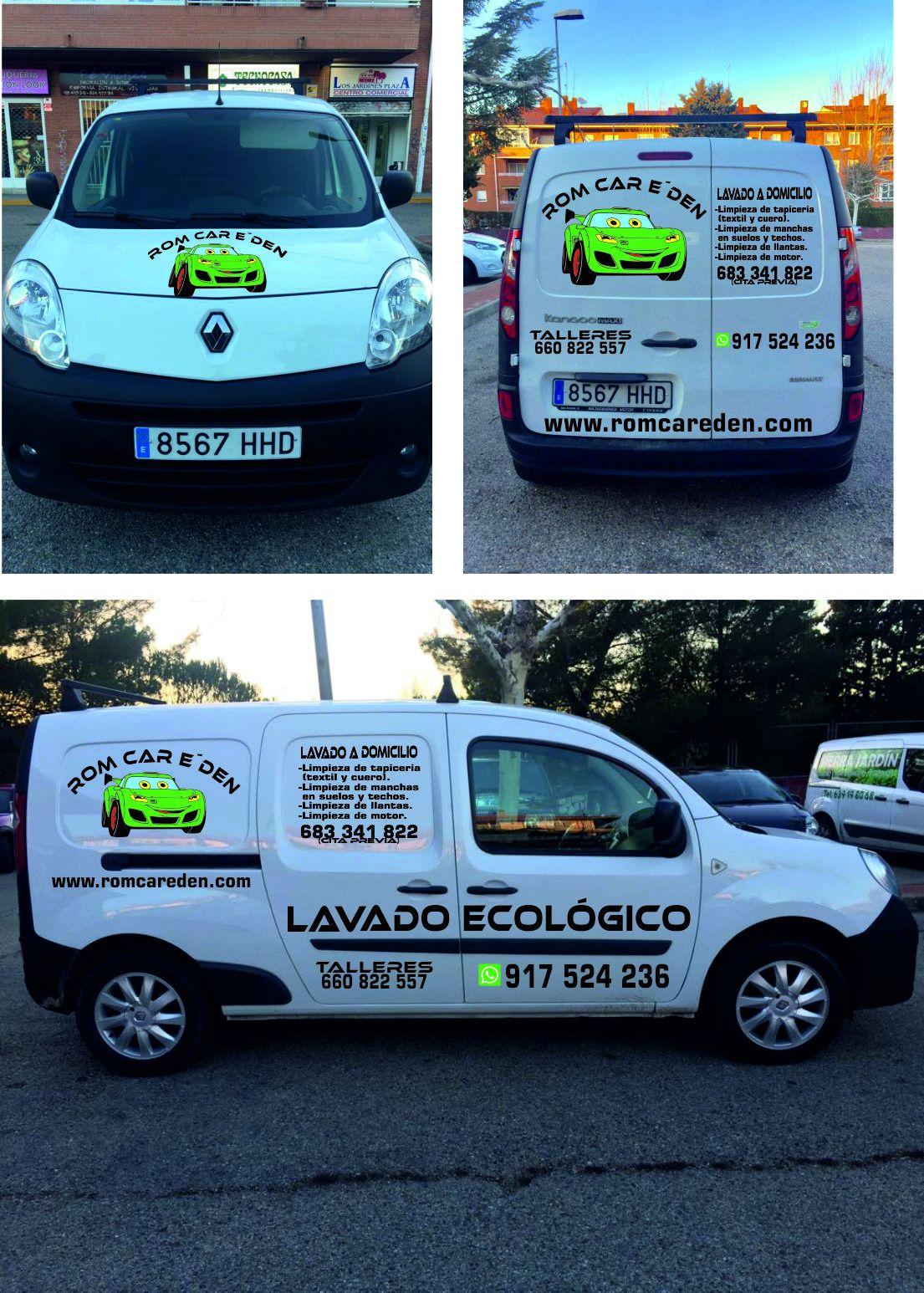 Lavado ecológico del automóvil en Collado Villalba