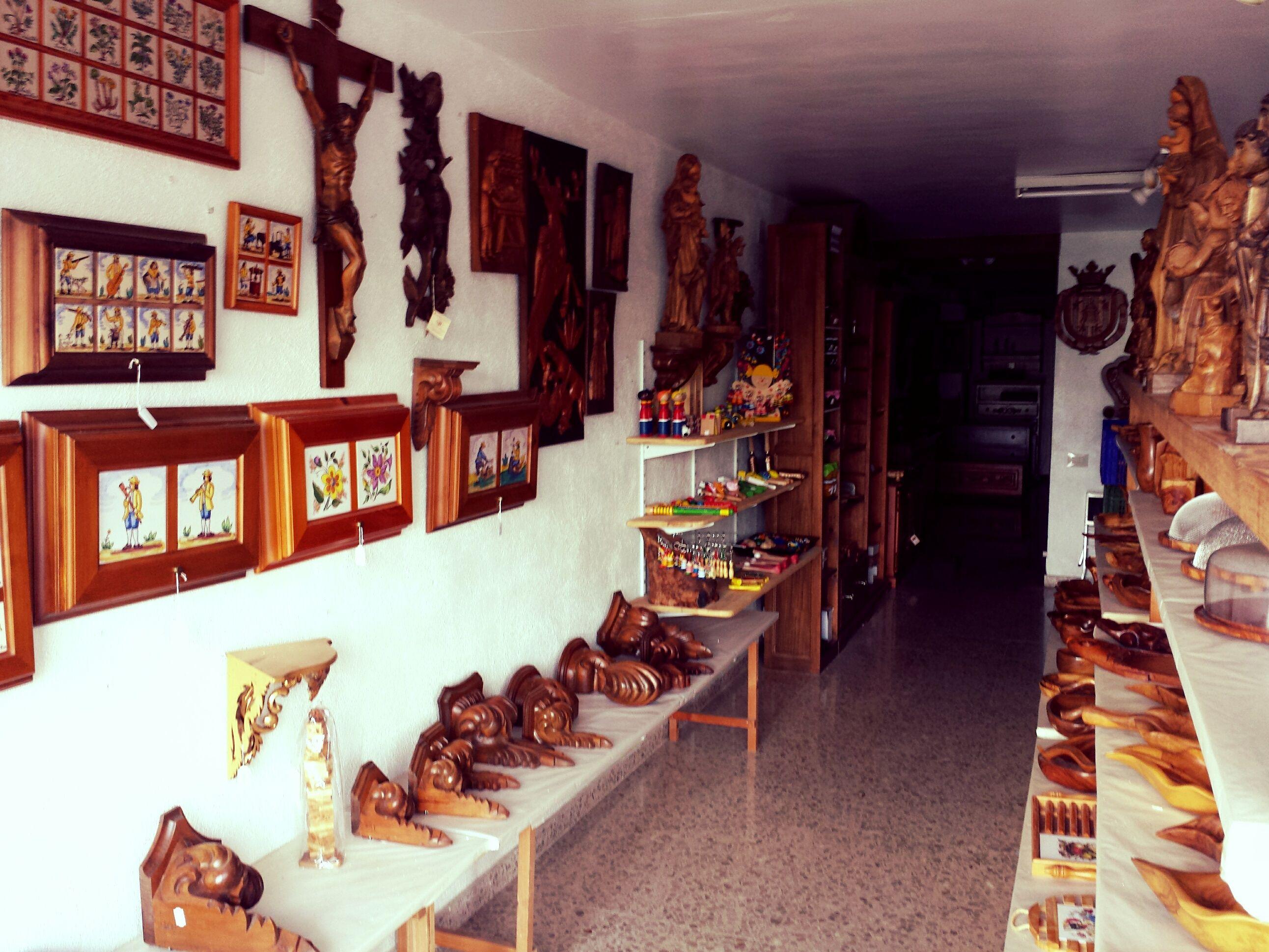 Artesanía en madera en Cervera del Maestre