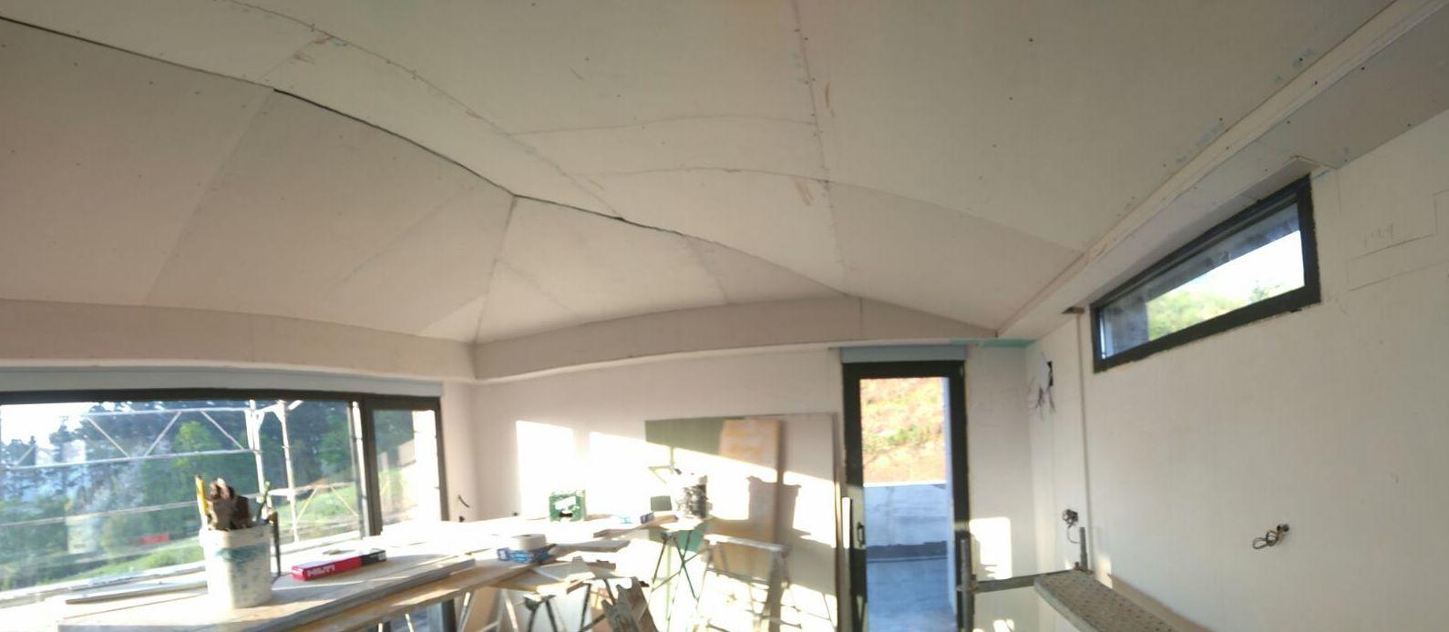 Arreglos en techos con pladur