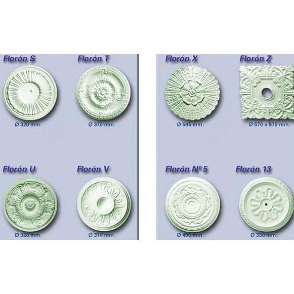 Aros y florones : Productos de Escayola y Pladur Hidalgo