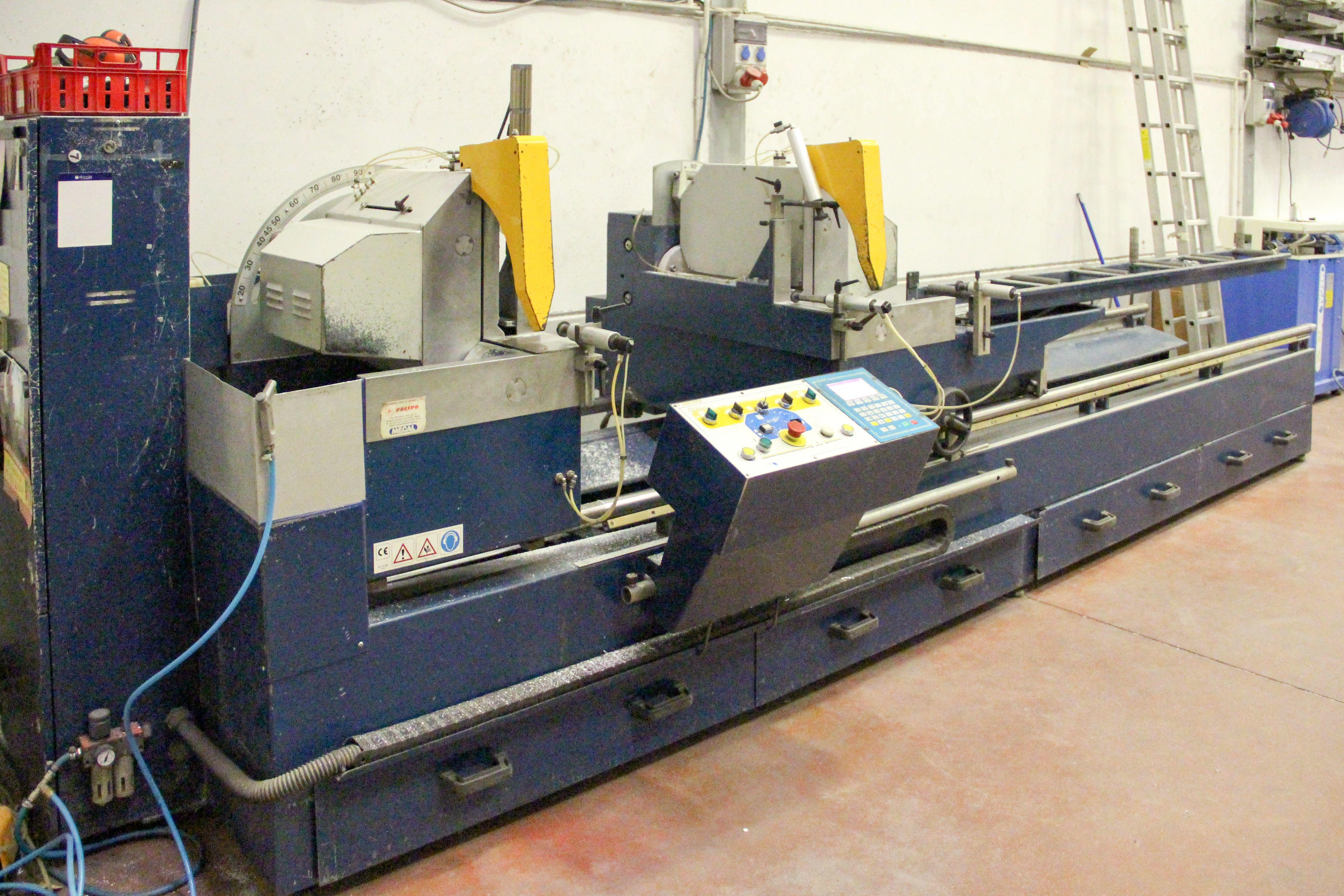 Maquinaría para el procesado de aluminio
