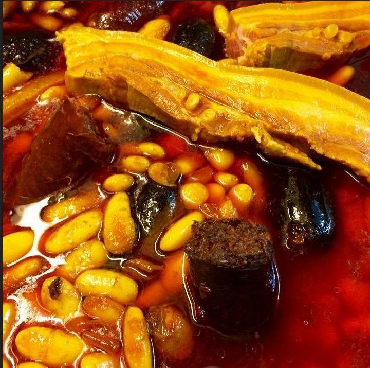 Fabada asturiana en Pontevedra
