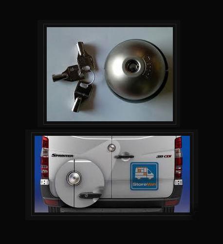 Cerradura de seguridad para furgonetas