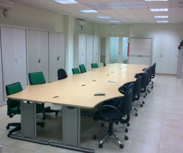 Sala de reunión de nuestra empresa en Terrassa