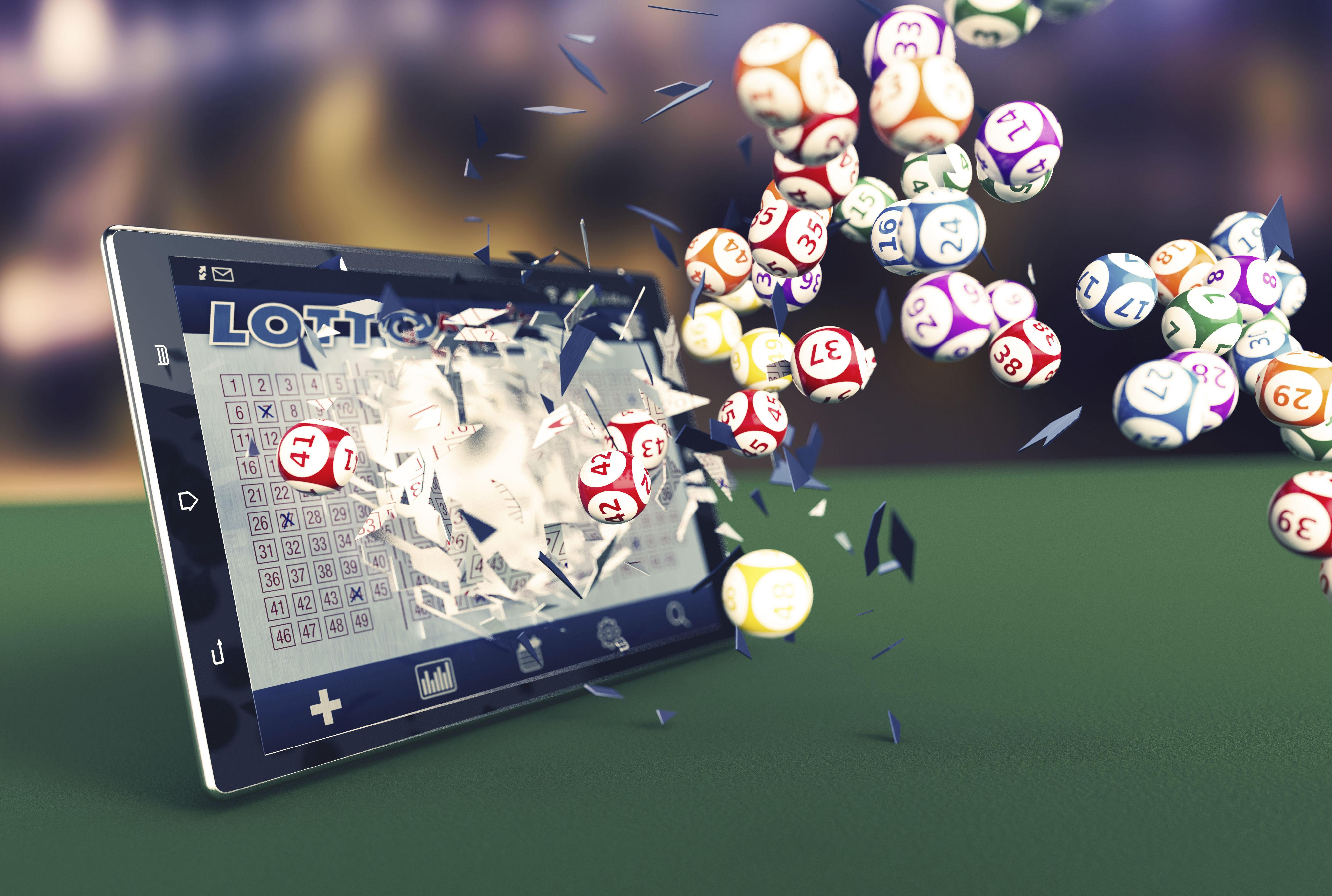 Lotería por internet