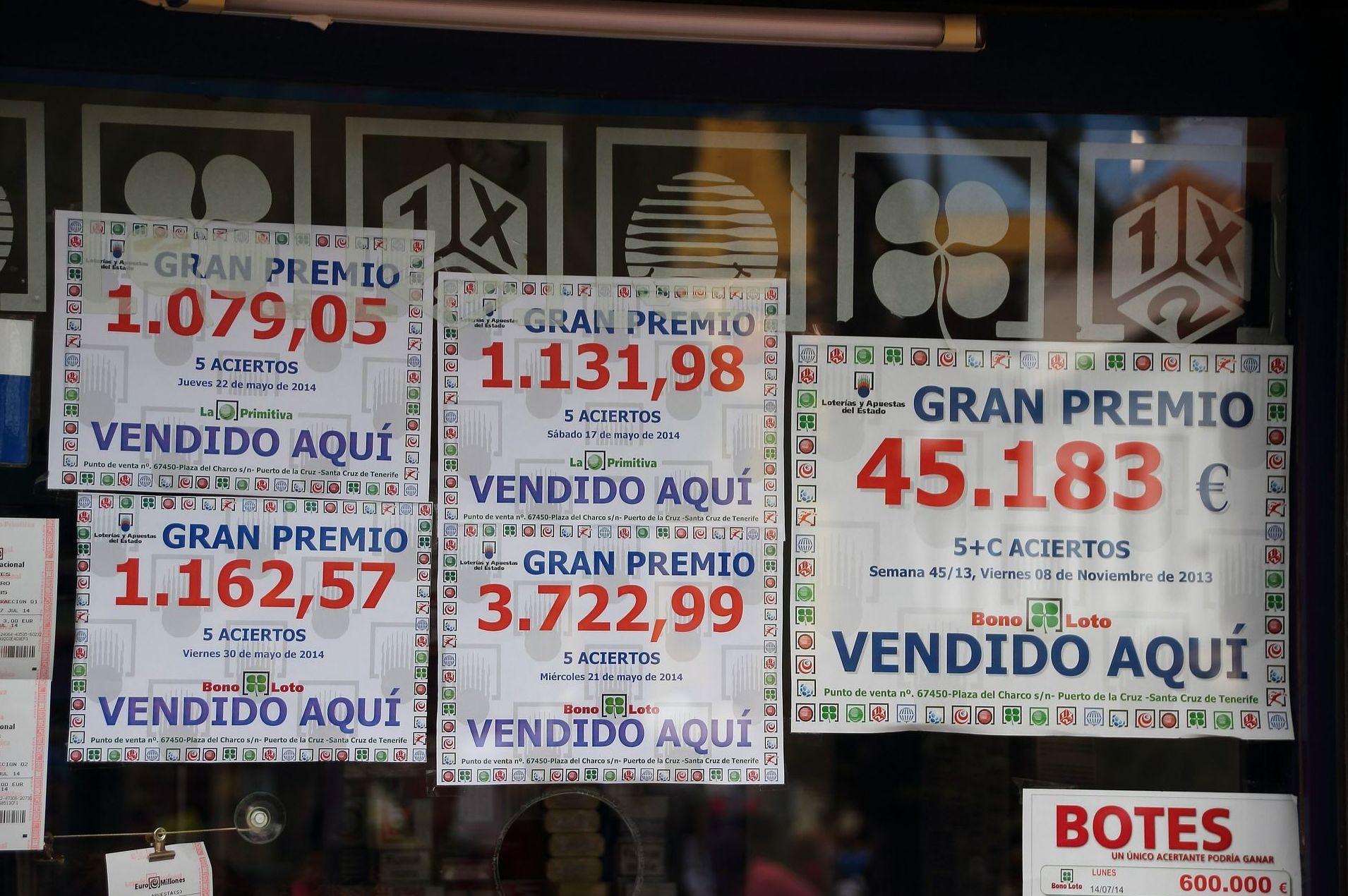 Lotería con suerte en La Rioja