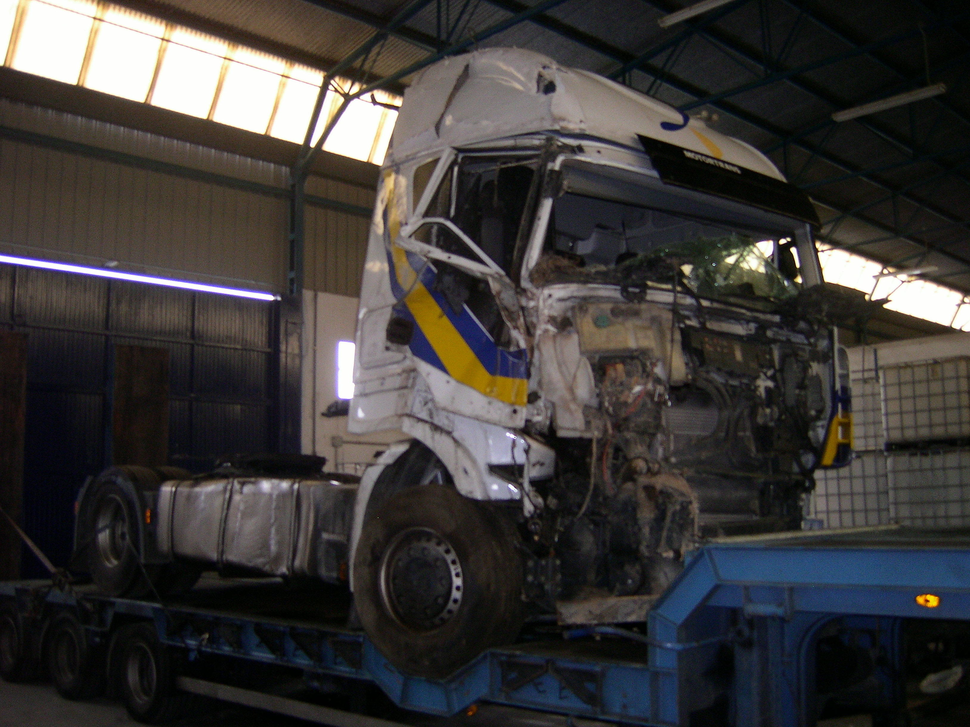 Siniestro camión