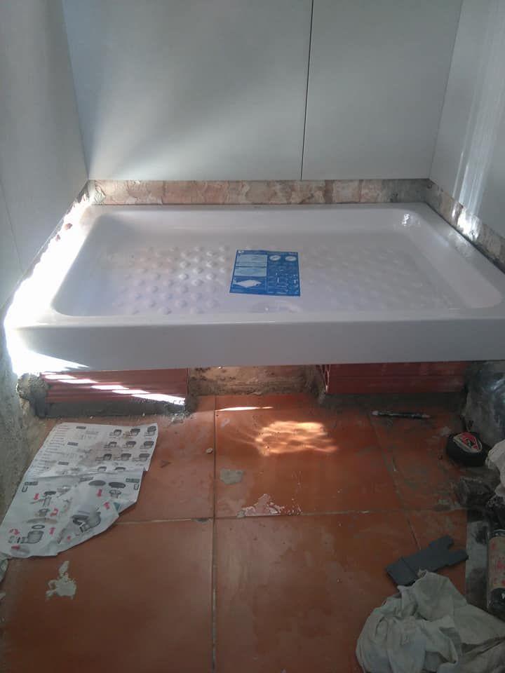 Cambio de bañera por plato de ducha en Esplugues de Llobregat (Barcelona)